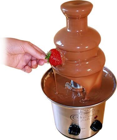 מדריך הפעלה למפל שוקולד